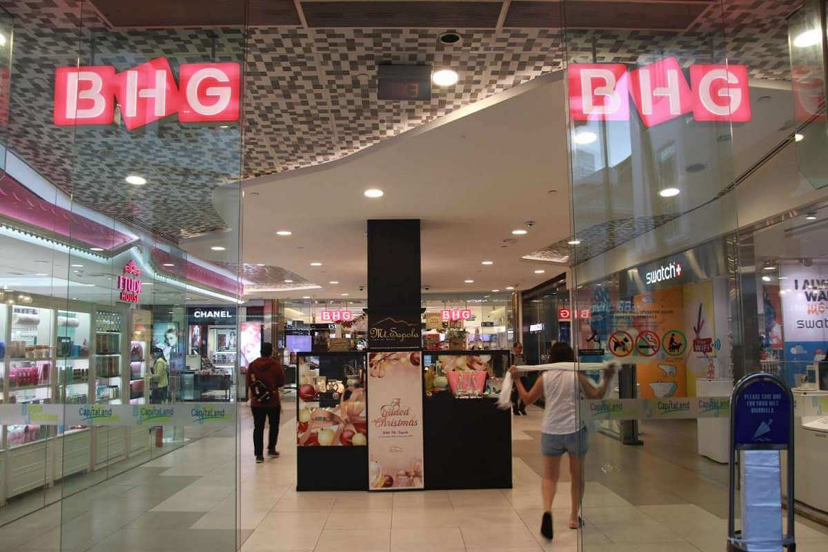 3a4d9a8f6513 BHG began as Seiyu Wing On Department Store at Bugis Junction