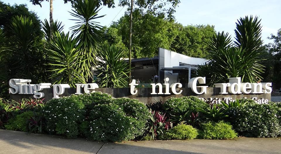 Mystery Of Disappearing Letters Singapore Botanic Gardens Takes Part In Missing Type Campaign