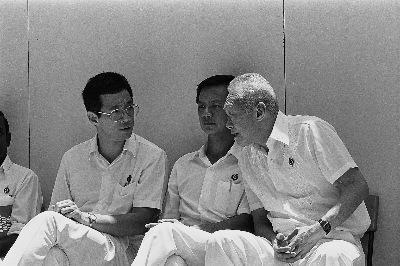 Image result for lee hsien loong 1980s