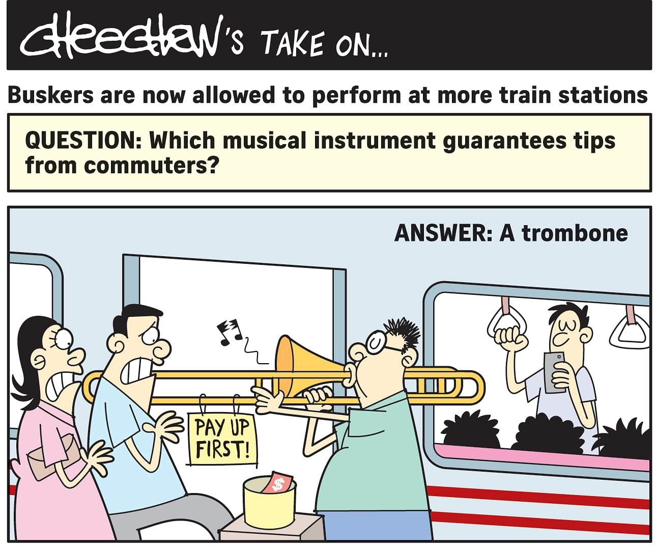 Buskers are now allowed to peform at more train stations