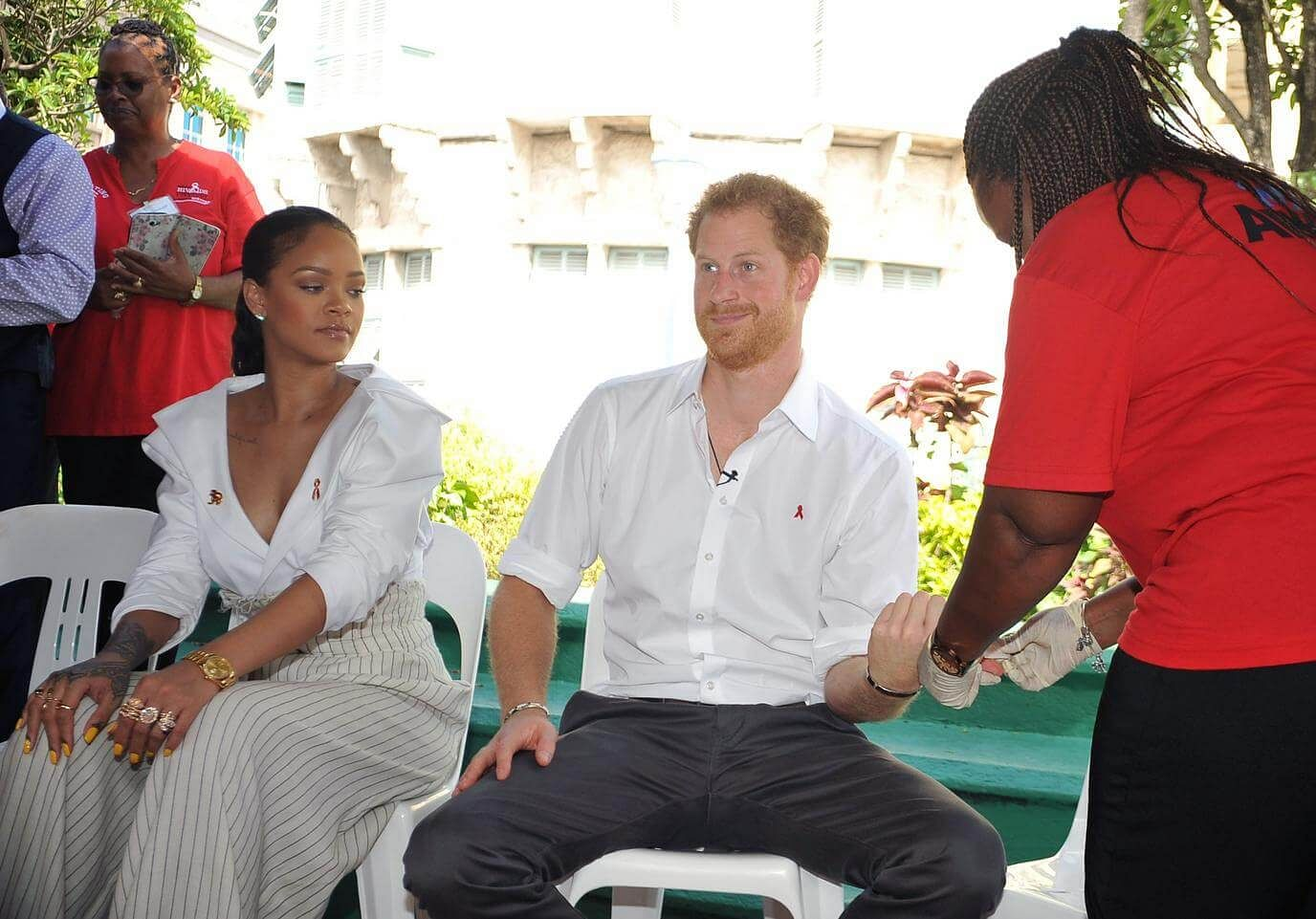 Prince Harry joins Rihanna at celebration in Barbados