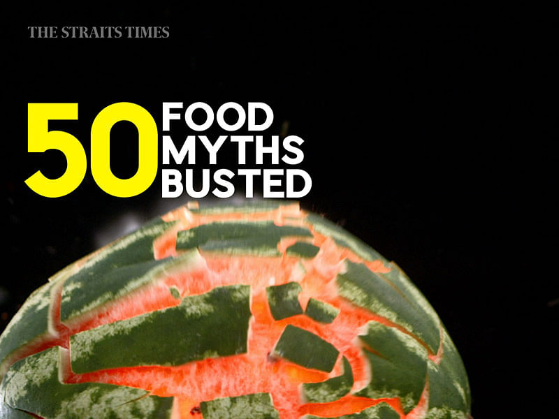 50 Food Myths Busted