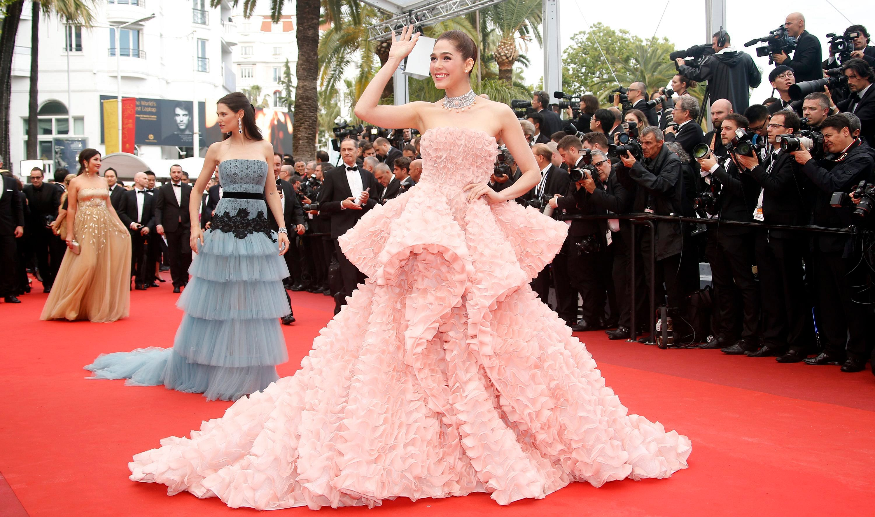 Asian stars shine - and bore - on the Cannes red carpet, Photos News ...