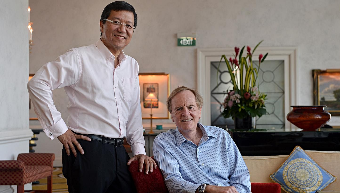 Ex-Apple CEO to team up with local entrepreneur, Business