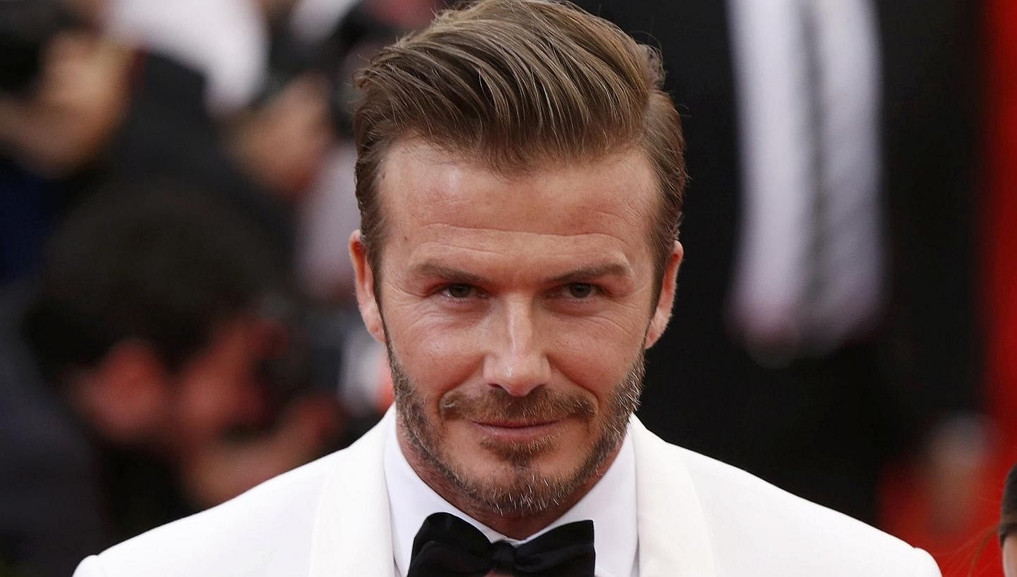 Football David Beckham Will Be In Singapore Next Month Heres How