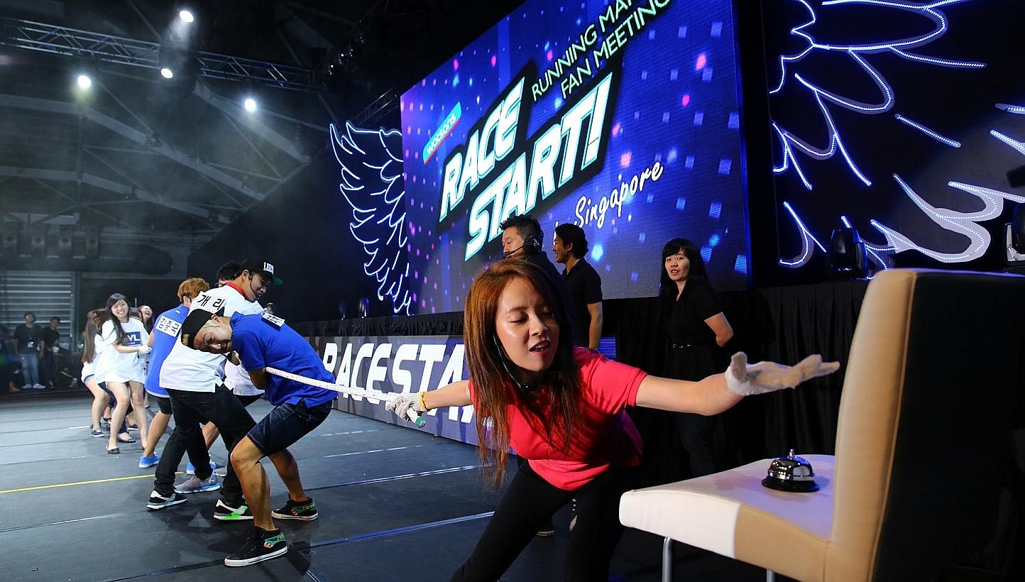 Running Man cast to hold second fan meet here in November