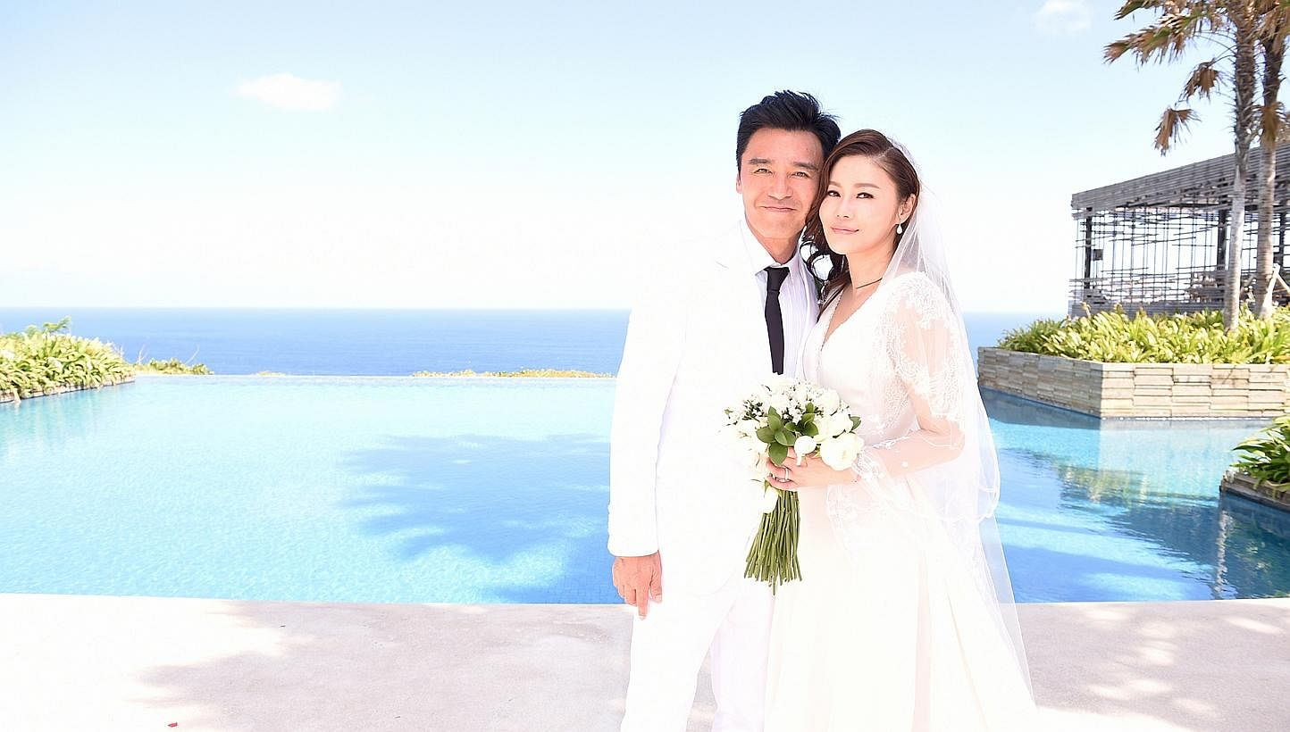 hong kong star kenny bee weds partner fan chiang after years hong kong star kenny bee weds partner fan chiang after 17 years together entertainment news top stories the straits times