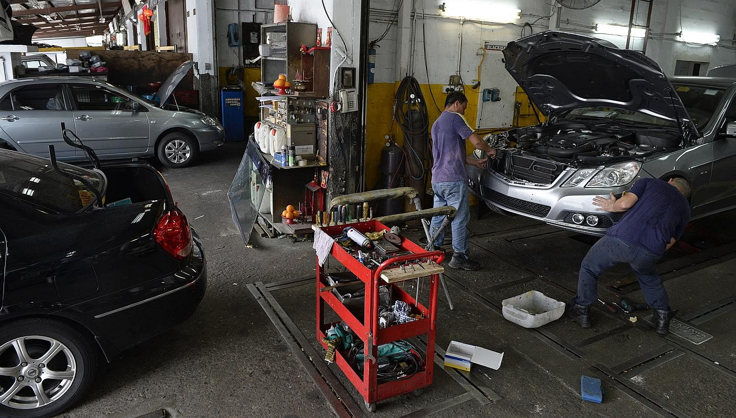 Car Workshops Hit By Labour Crunch Singapore News Top Stories The Straits Times