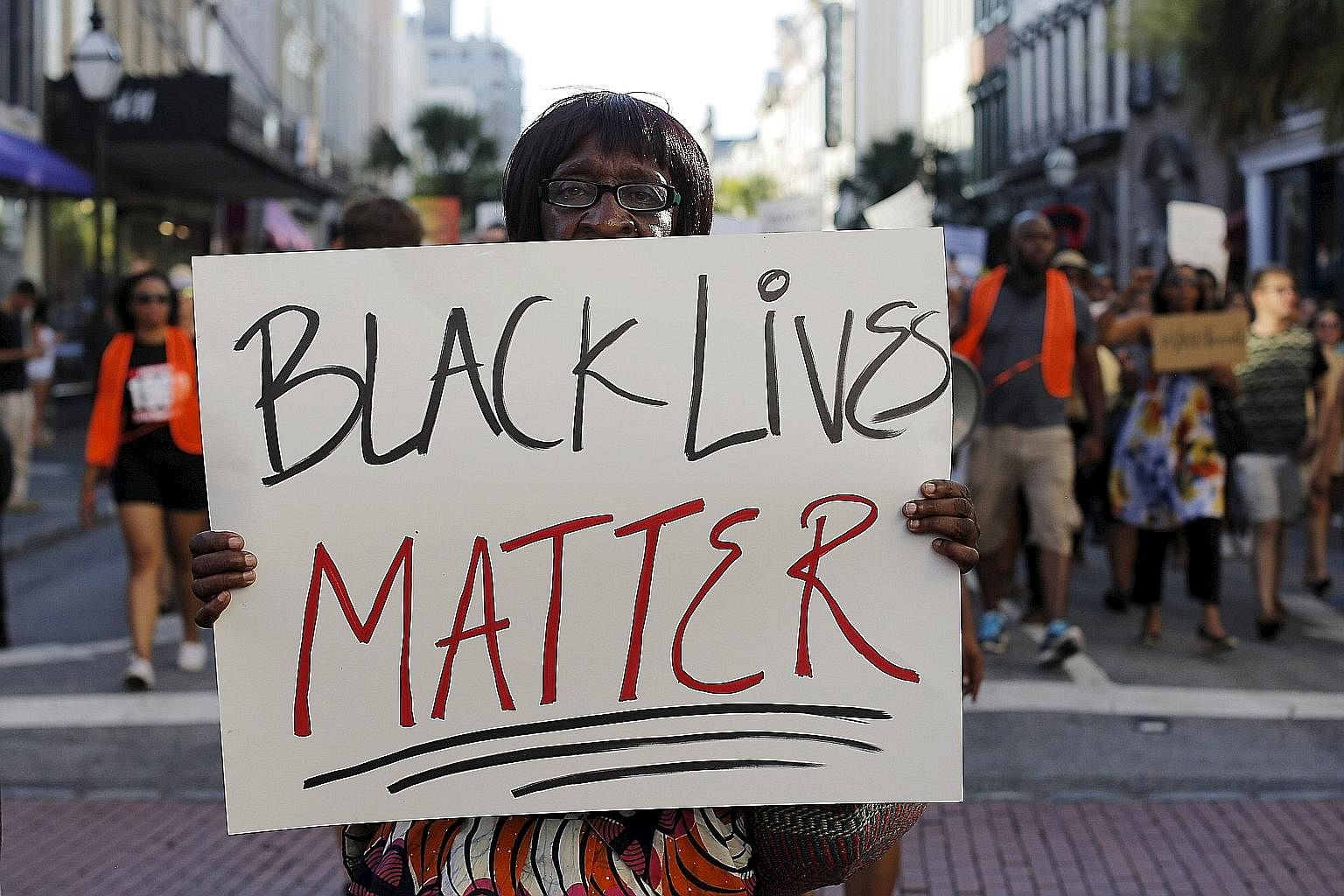 The state of police abuse of African Americans in the US has reached disproportionate levels, and the issue is so serious, America should start looking at how other countries handle racial issues to improve its own system, says the writer.