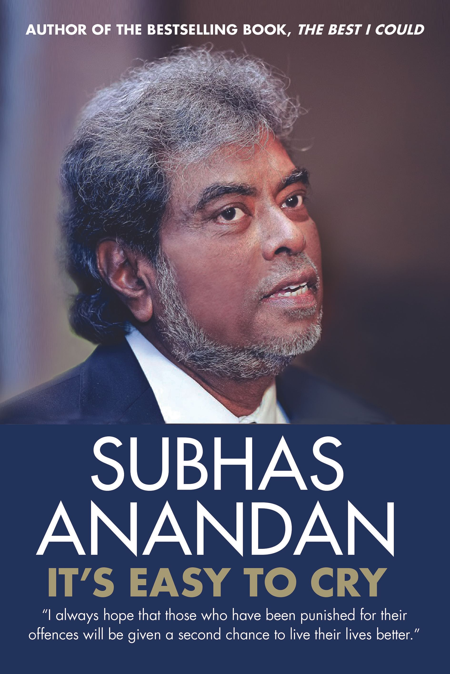 The late Subhas Anandan's second book will hit bookstores next month.