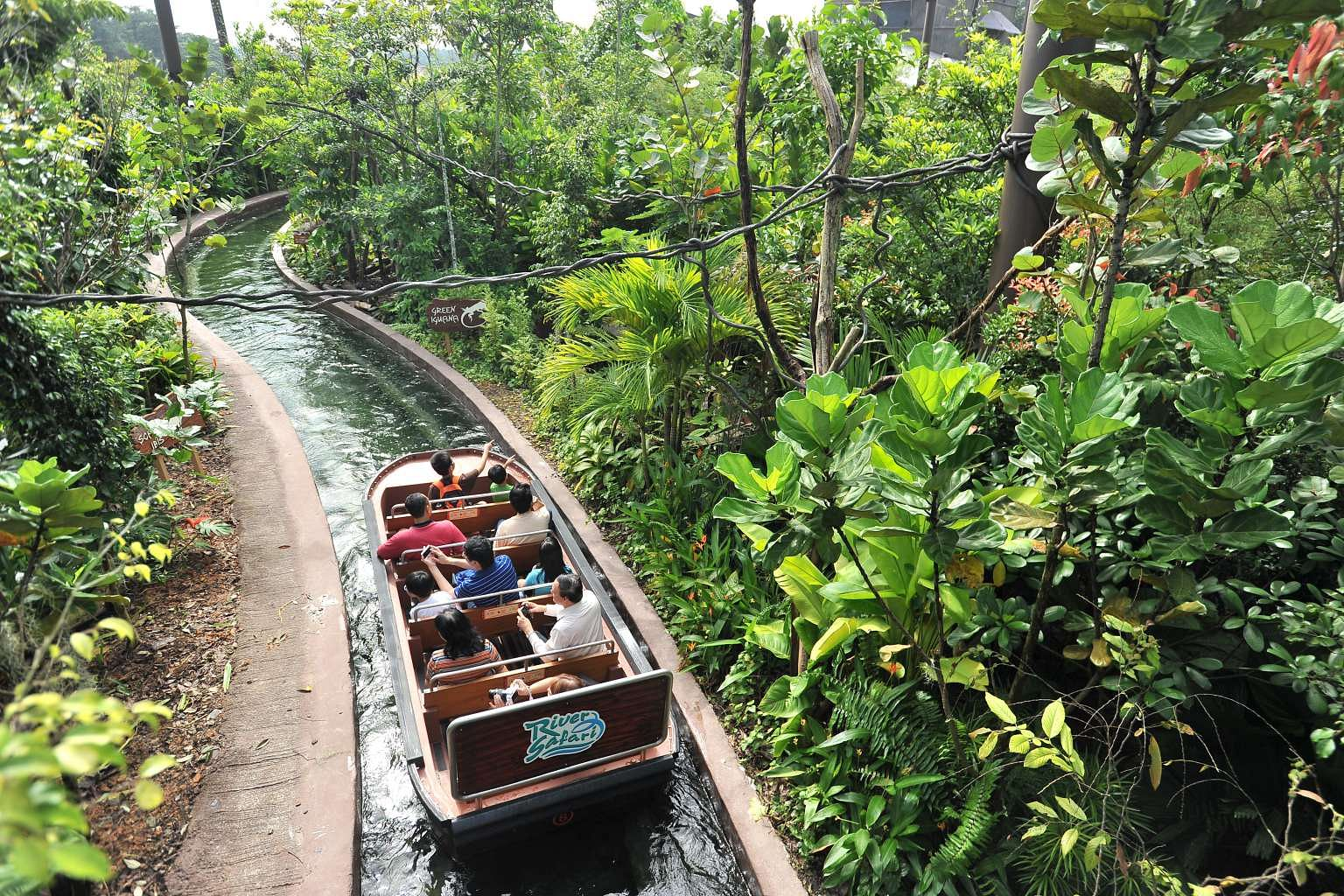 Image result for river safari singapore