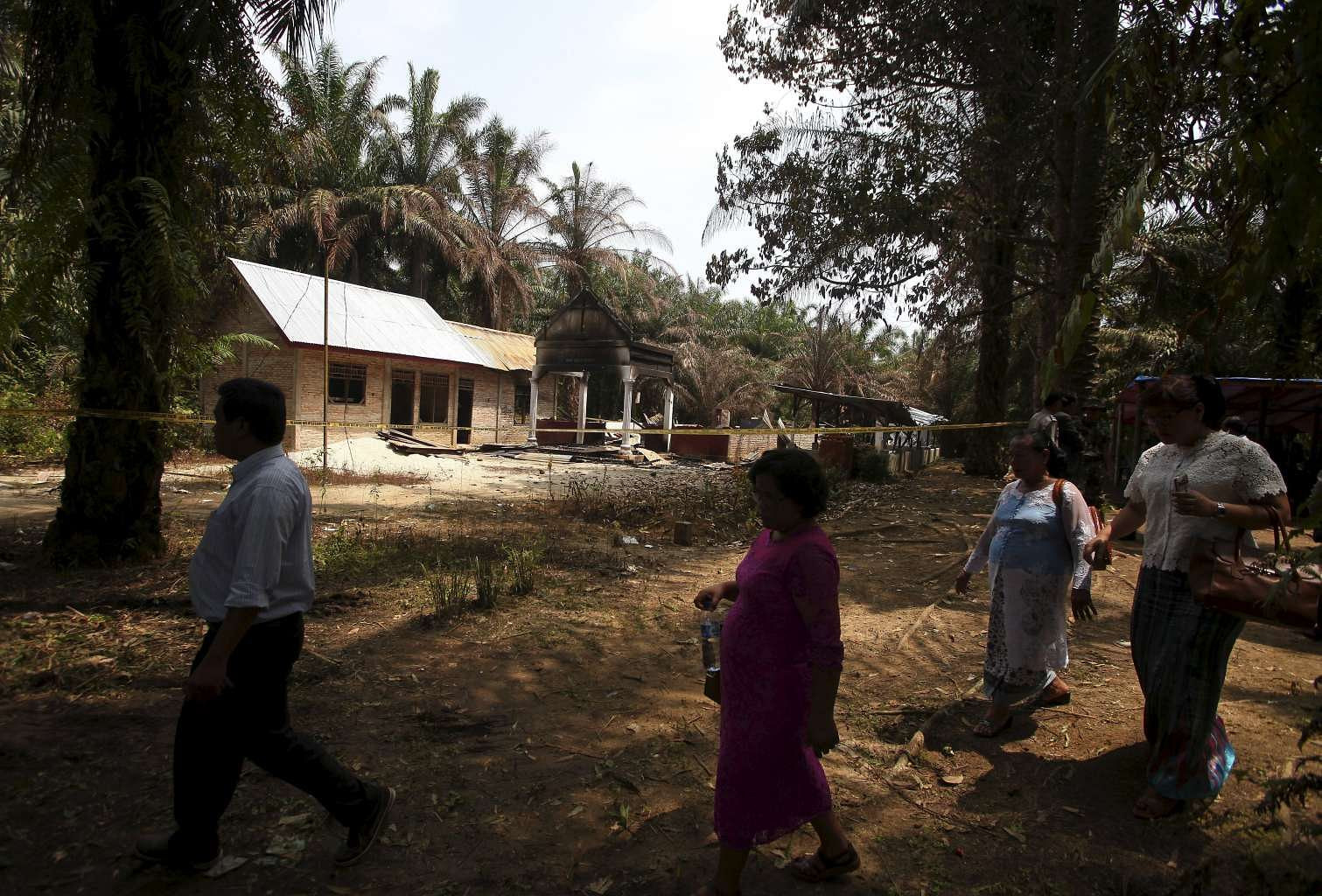 Indonesias Aceh Demolishes Churches After Deadly Unrest SE Asia