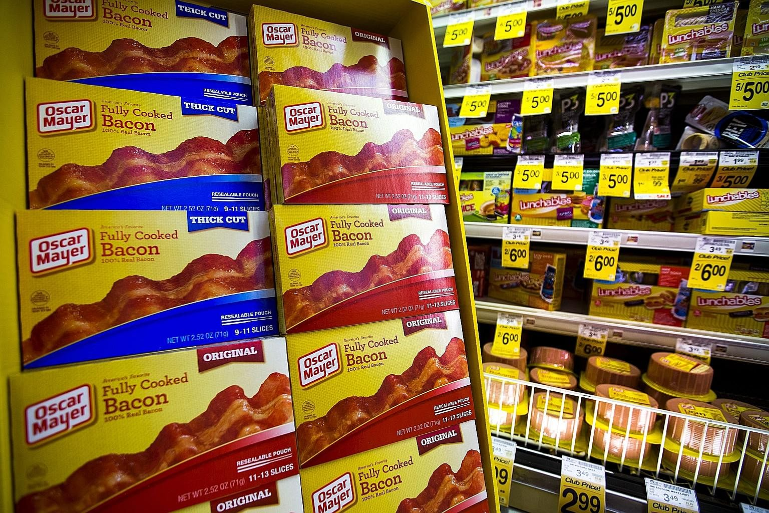 Processed meat in a US grocery store. Any meat with a suspiciously long shelf life is probably not very good for you, but if you're an adult with free will, you may decide to buy it anyway.