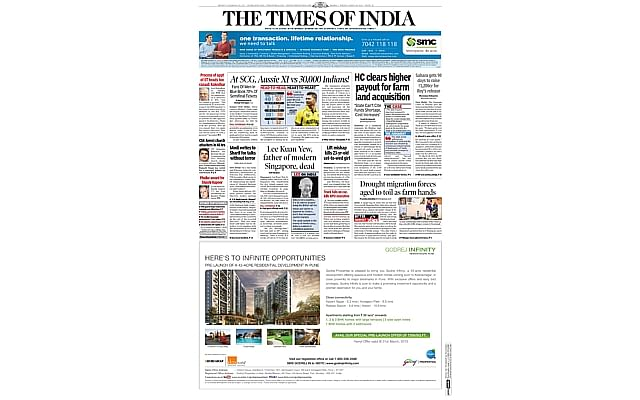 GPnewspaperthetimesindia2403