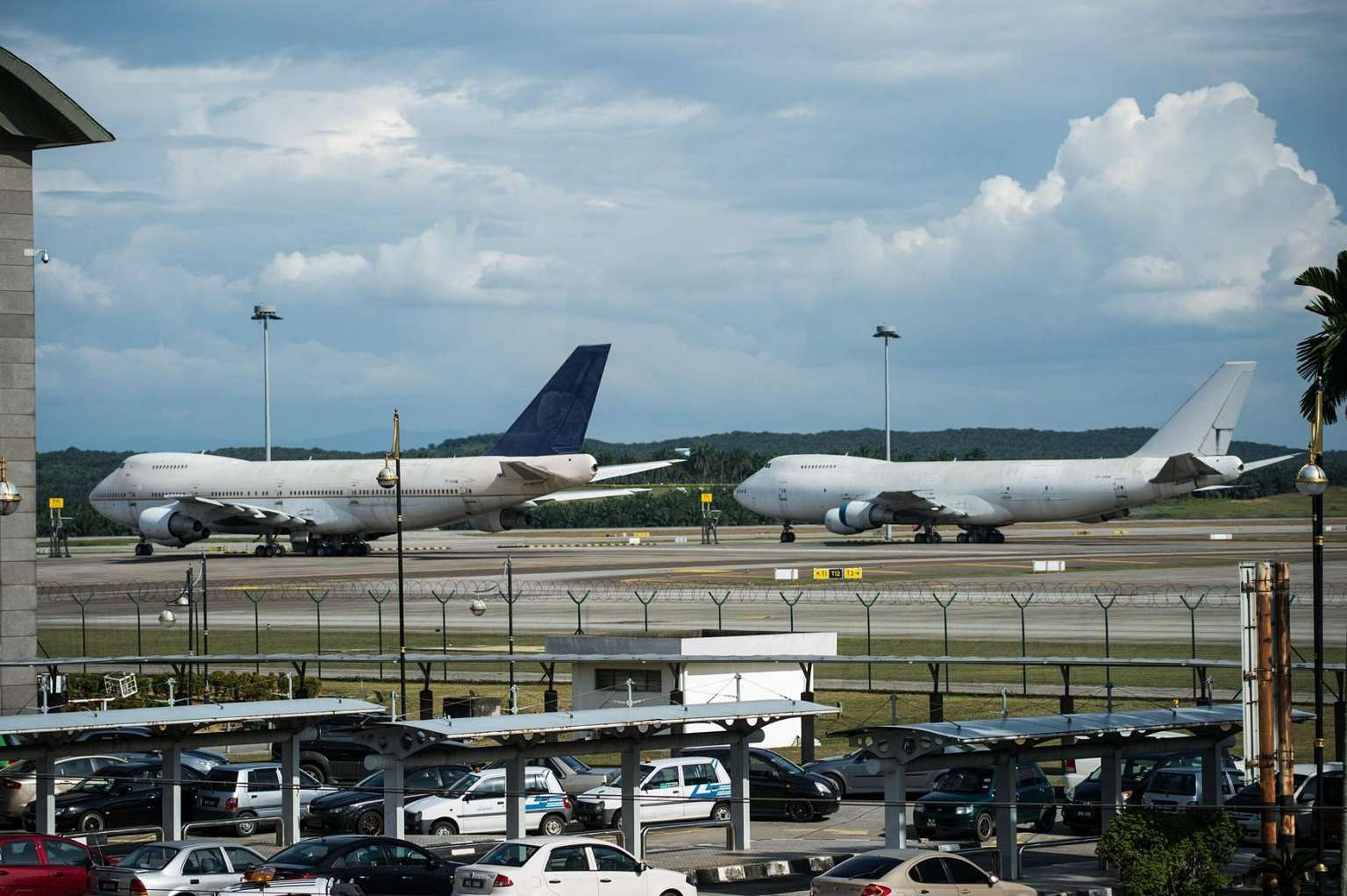 White apron malaysia -  Last Call For Owner Of 3 Abandoned Planes Malaysia Airports Seeks Owner Of Boeing 747s Left At Klia Se Asia News Top Stories The Straits Times