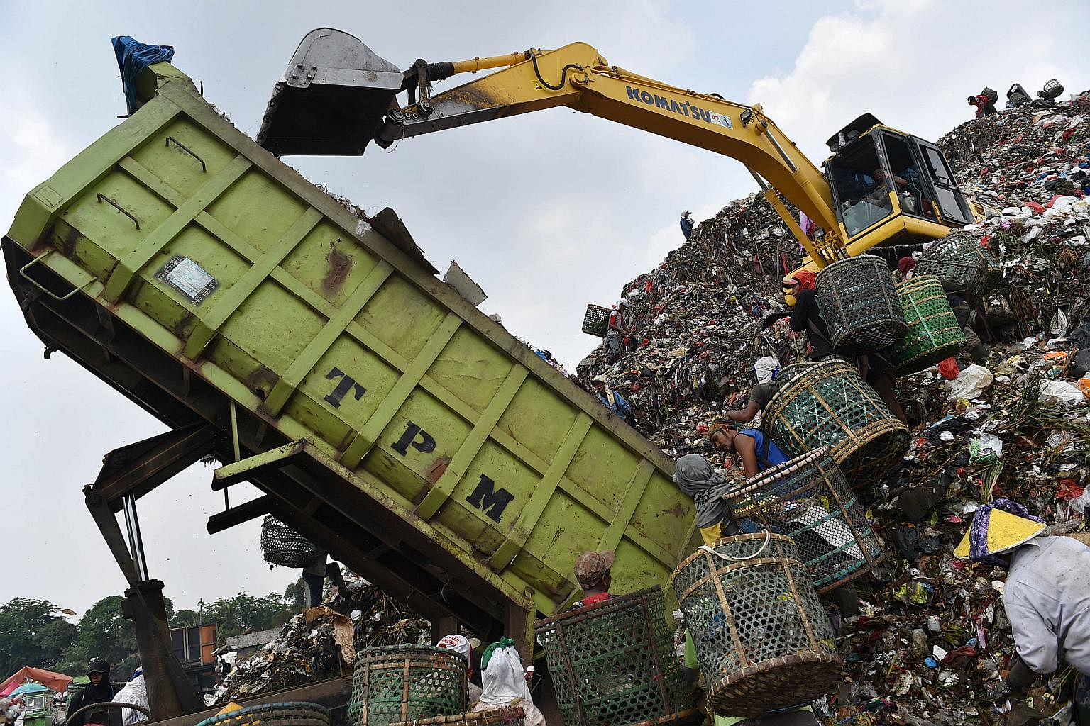 Jakarta is also facing the waste crisis | The Straits Times