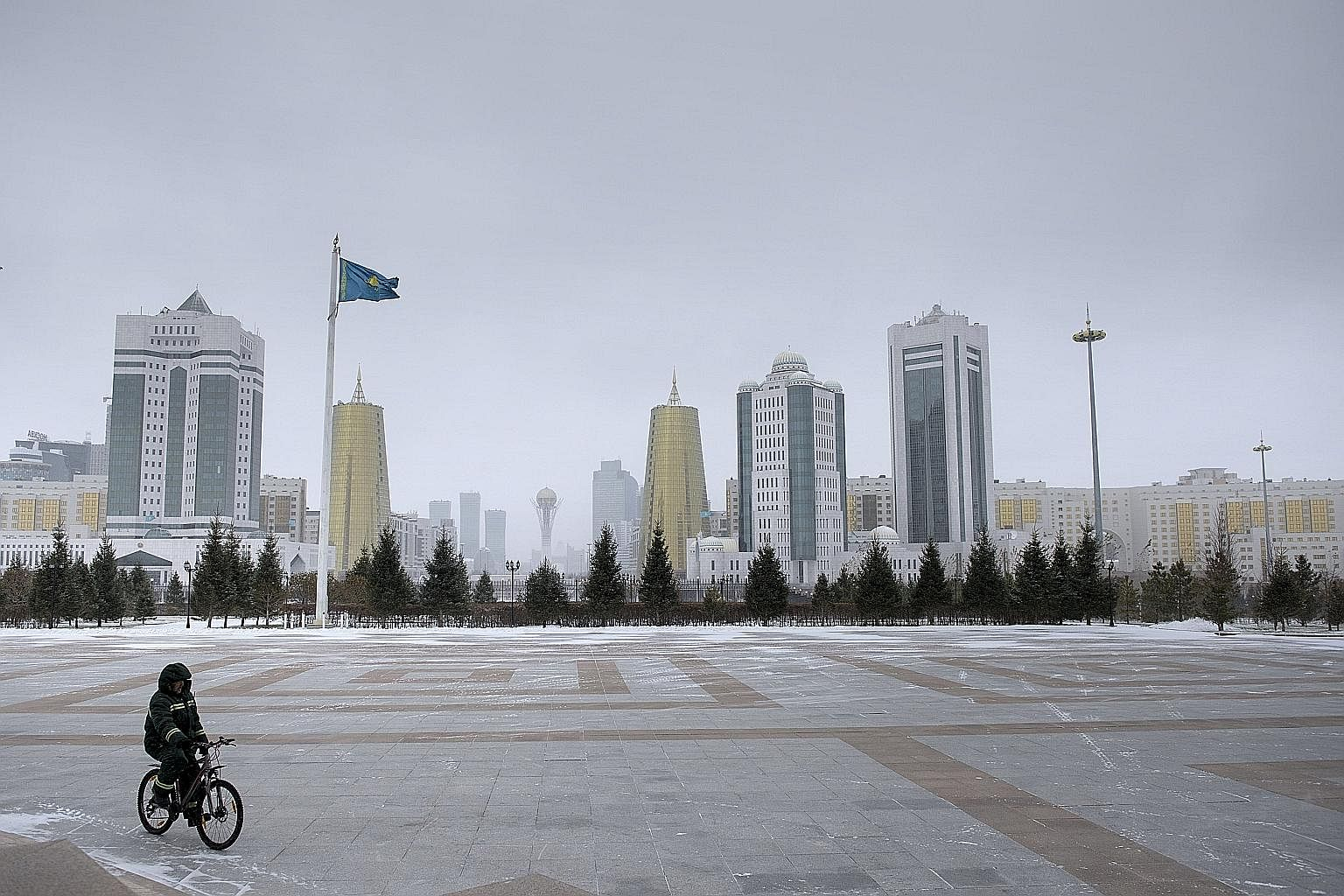 Last month, Astana (left) was host to the inaugural meeting of the Astana Club - a platform for private dialogue among policy analysts, business figures and political leaders about issues in Central Asia. The meeting revealed new dynamics of great-po