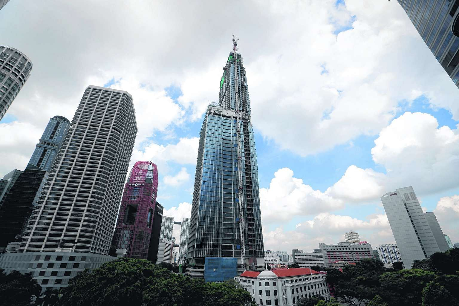 Tanjong Pagar Centre New Tallest Building In Singapore After 20 Years Business News Top Stories