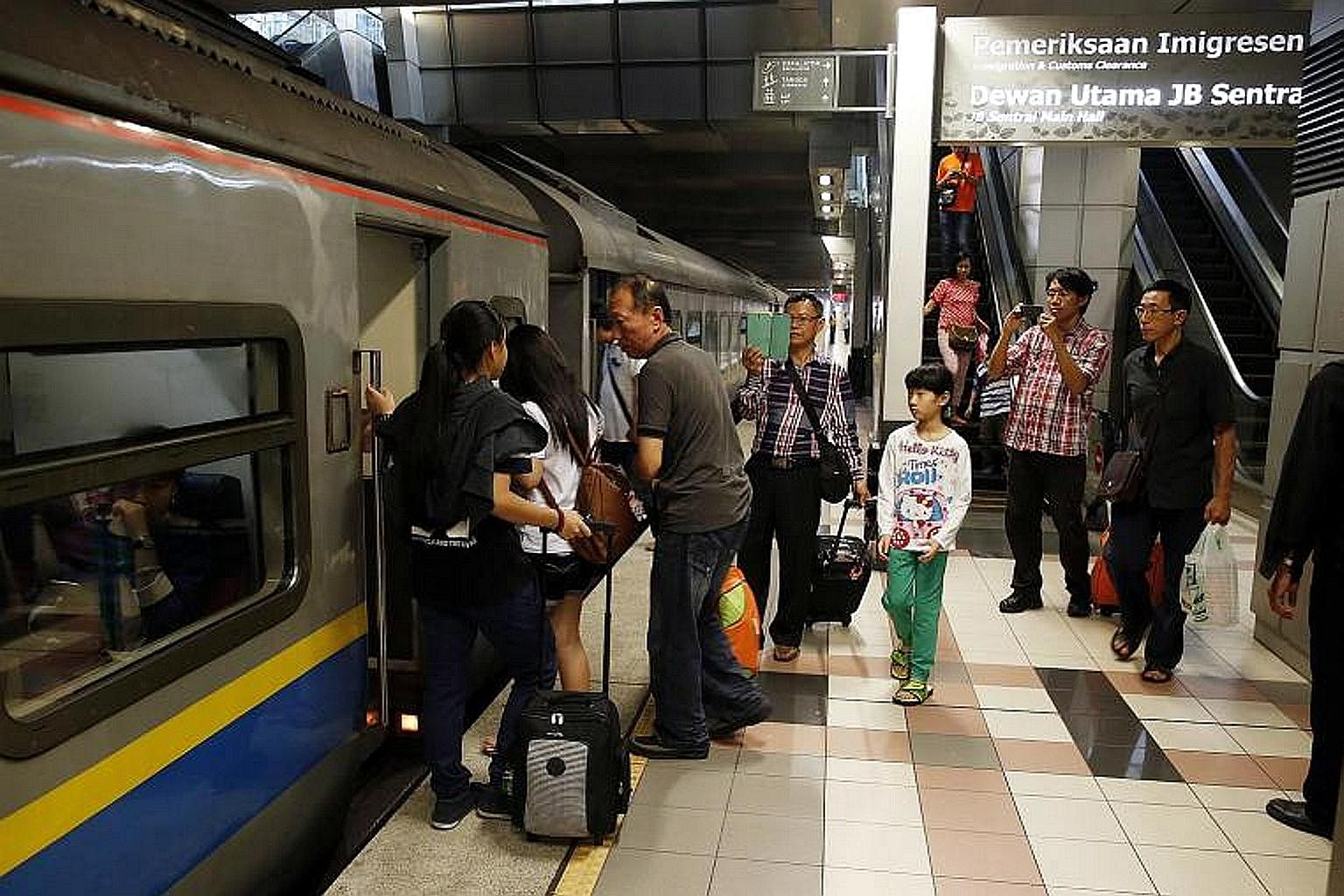 More JB-Woodlands shuttle train trips from tomorrow, Transport ...