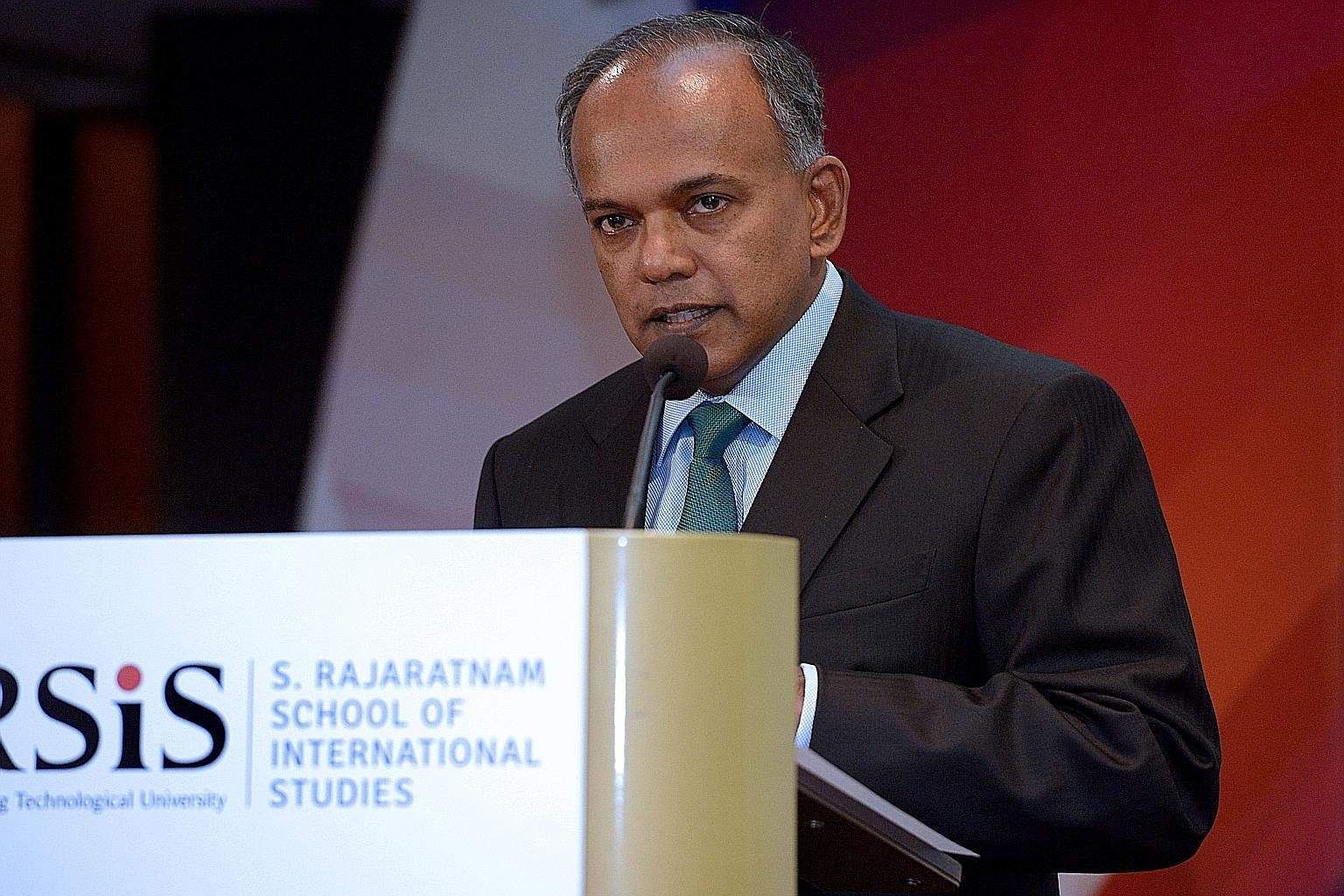 Home Affairs and Law Minister K. Shanmugam, in his opening address at the Studies in Inter-Religious Relations in Plural Societies Programme yesterday, emphasised the importance of tolerance, and of safeguarding Singapore's multiracial, multi-ethnic