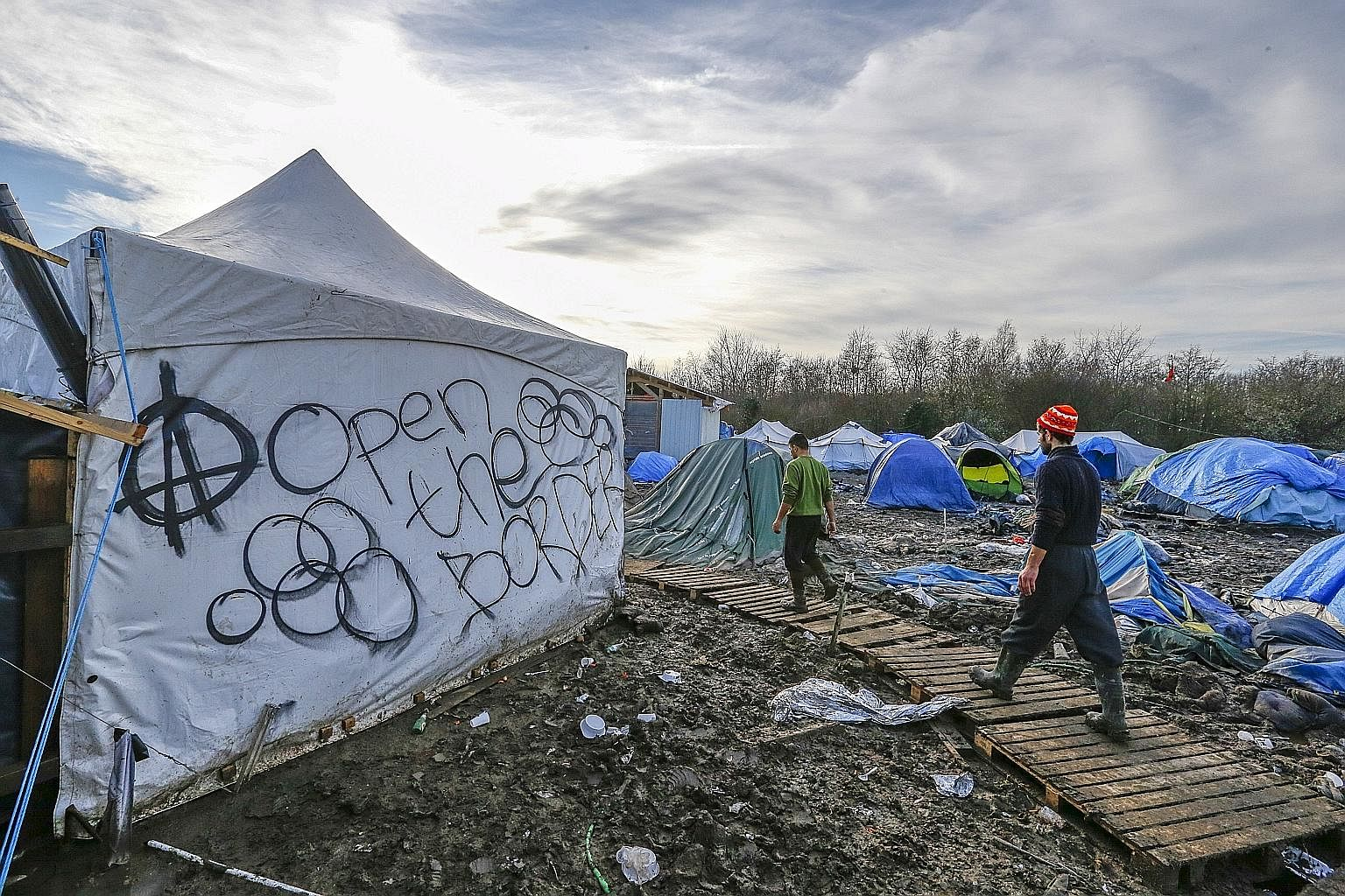 More and more countries in the European Union are now sealing their borders, and anti-immigrant parties are rising everywhere.