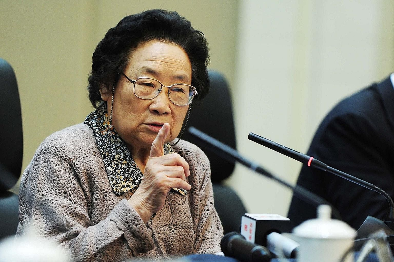 TCM got a boost last year when China's Tu Youyou (above) won the Nobel Prize in medicine for extracting the anti-malarial drug artemisinin from sweet wormwood.