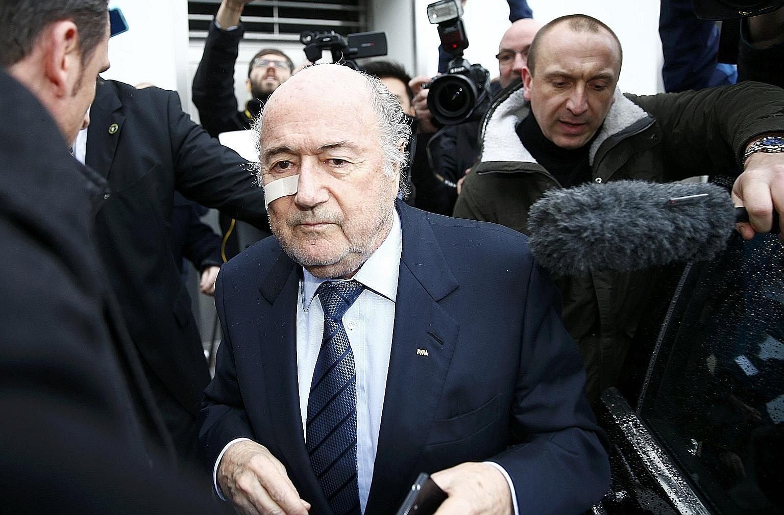 Disgraced former Fifa president Sepp Blatter may have been ousted from his seat at the top of football's governing body, but all five of his potential successors have also been part of a corrupt system that has eschewed transparency from the public e