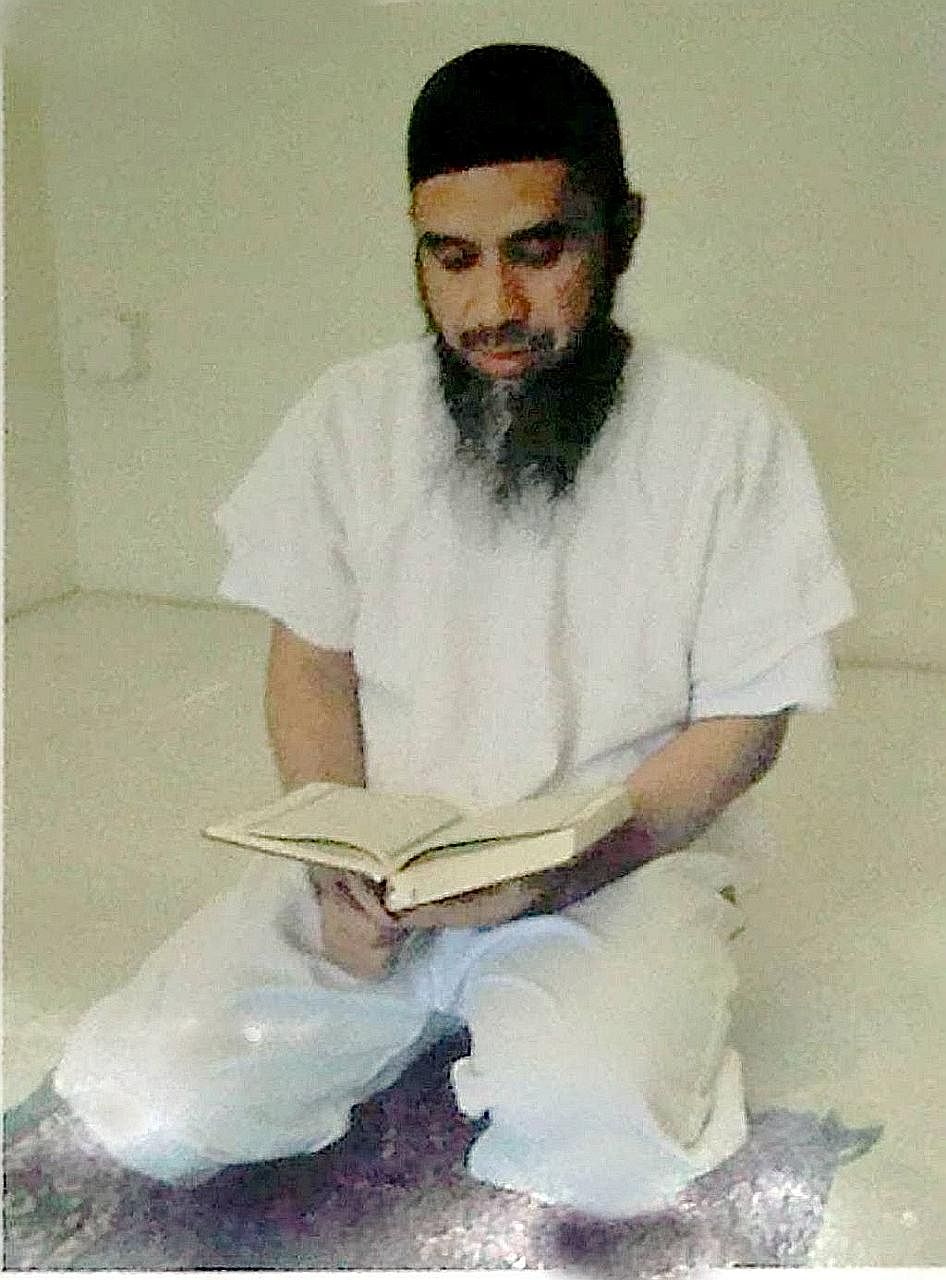 Hambali in his Guantanamo cell in a 2009 photo. He may be repatriated to Indonesia if the centre is shut.
