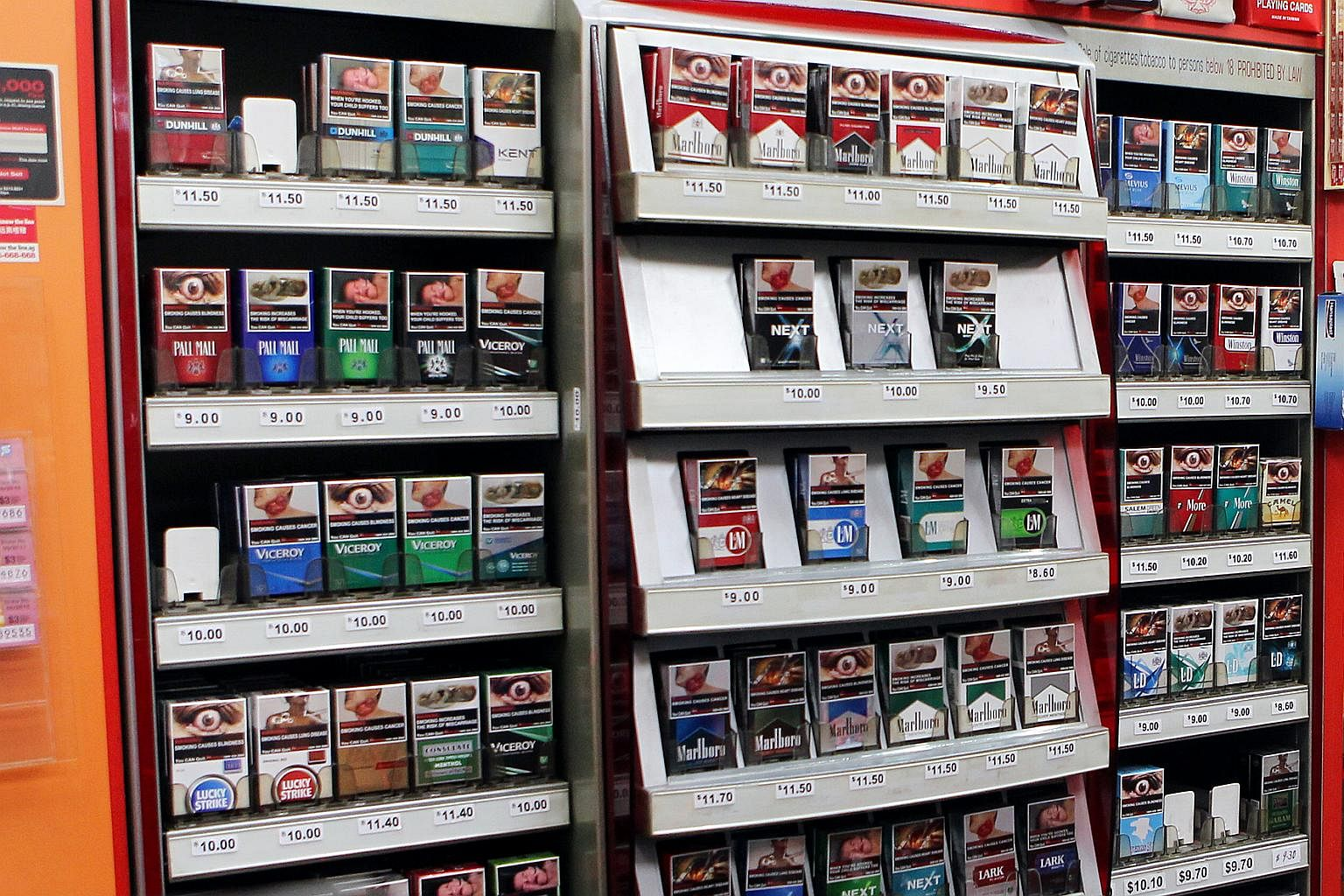 247c454081 Ban on display of tobacco products from 2017, Singapore News & Top ...
