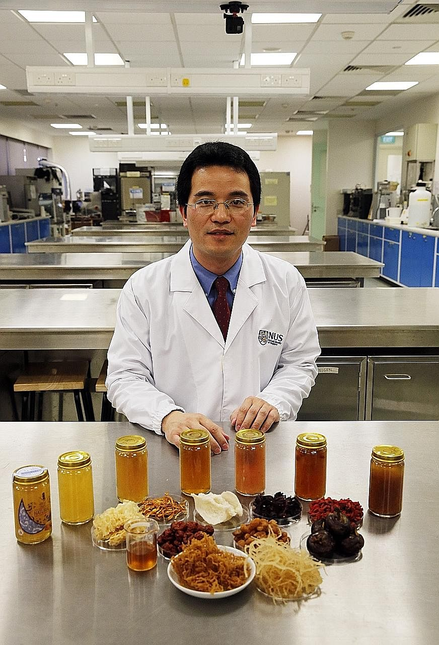 The National University of Singapore (NUS) has collaborated with local food manufacturer YGC Group to produce a drink made from eucheuma, a type of seaweed commonly found on South-east Asian seabeds. Eucheuma is rich in omega-3 fatty acids, which can