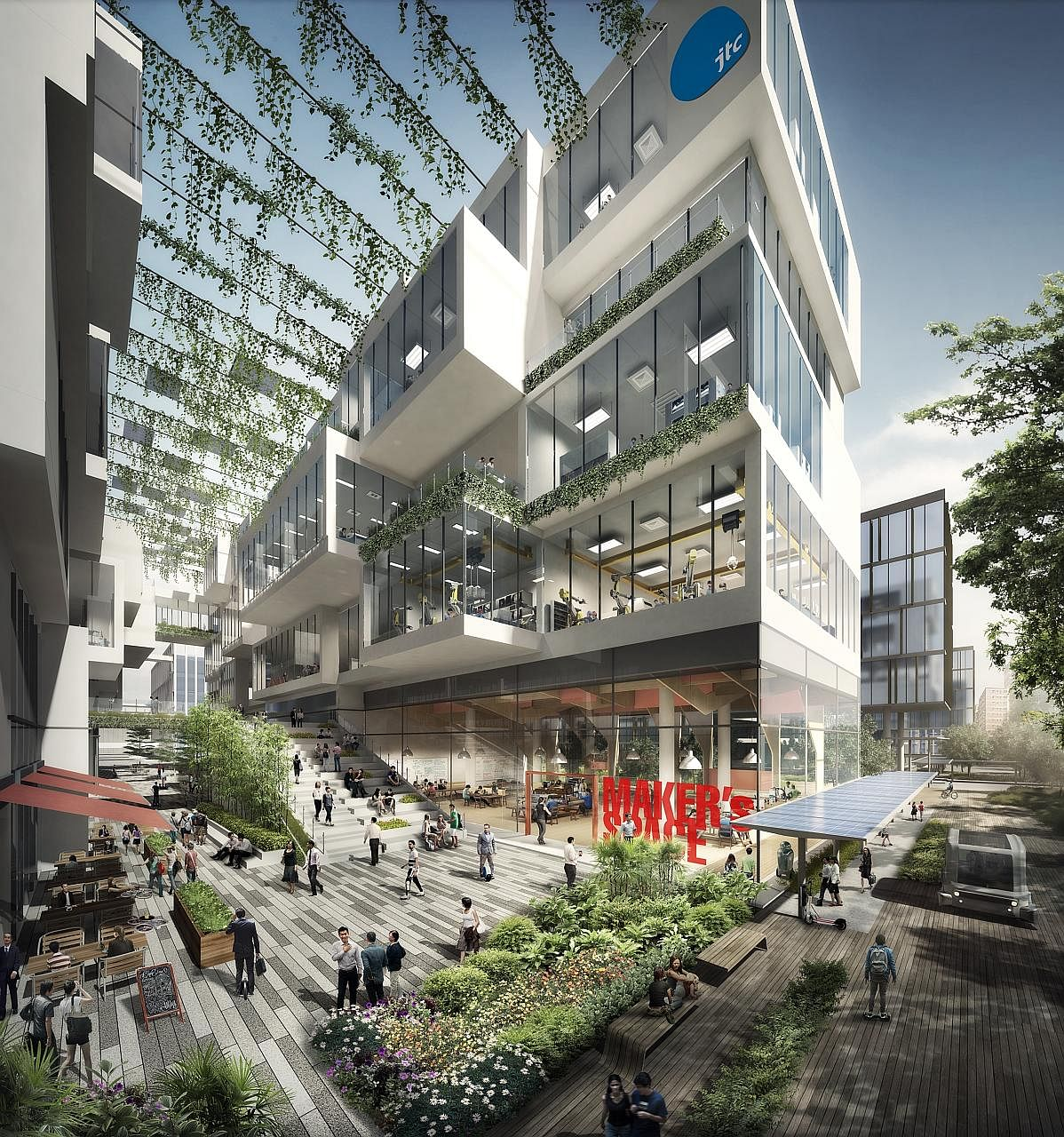 Jurong to be 'industrial park of the future', Property News & Top