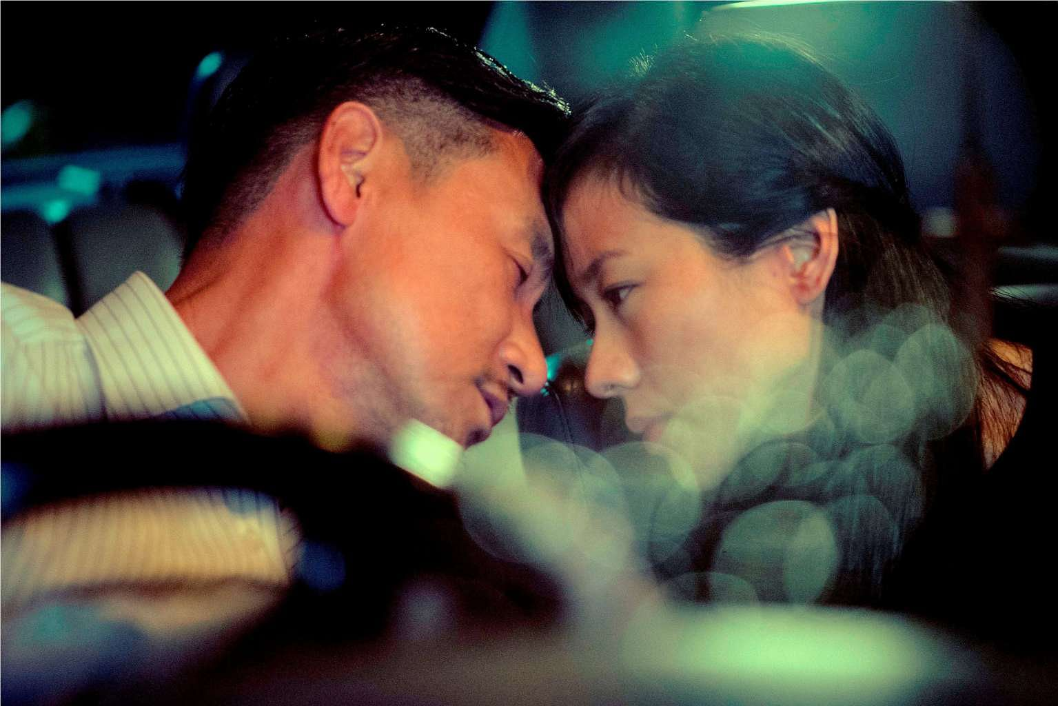 Jacky Cheung And Karena Lam Share Passionate Kiss Under Her Husband S Eyes Entertainment News Top Stories The Straits Times