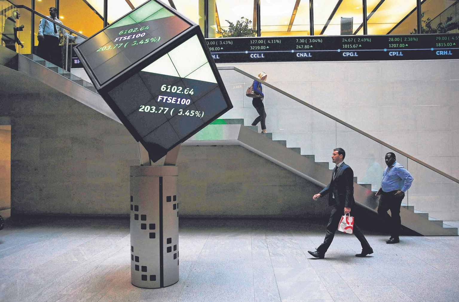 Growing via acquisitions is a well-trodden route. The London Stock Exchange (above), for instance, is in the midst of a merger with Deutsche Borse.