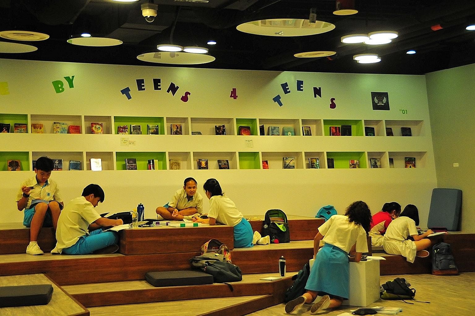 """The revamp of Pasir Ris Public Library (above) exemplifies how rethinking the library as a space for teenagers transformed its physical design and programmes. Although the term """"design"""" may often be associated with artistic activity, such as in fashi"""