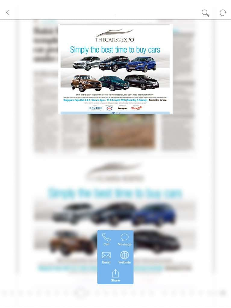 Moving ads give ST, My Paper apps more impact, Singapore News & Top ...
