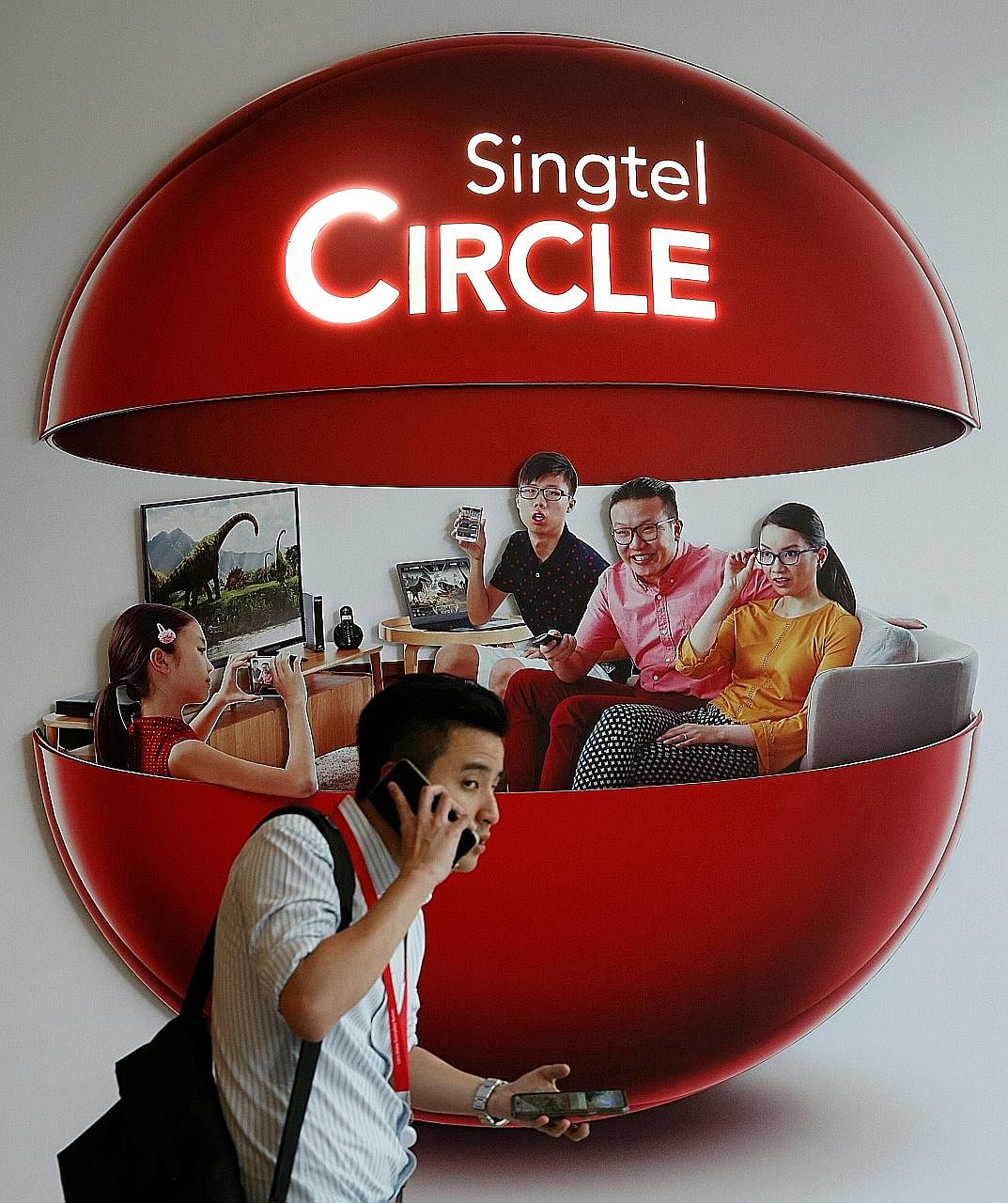 Bright spots in Singtel's Enterprise division include mobile data and cybersecurity. Foreign currency movements against the Singapore dollar ate into the telco's bottom line.
