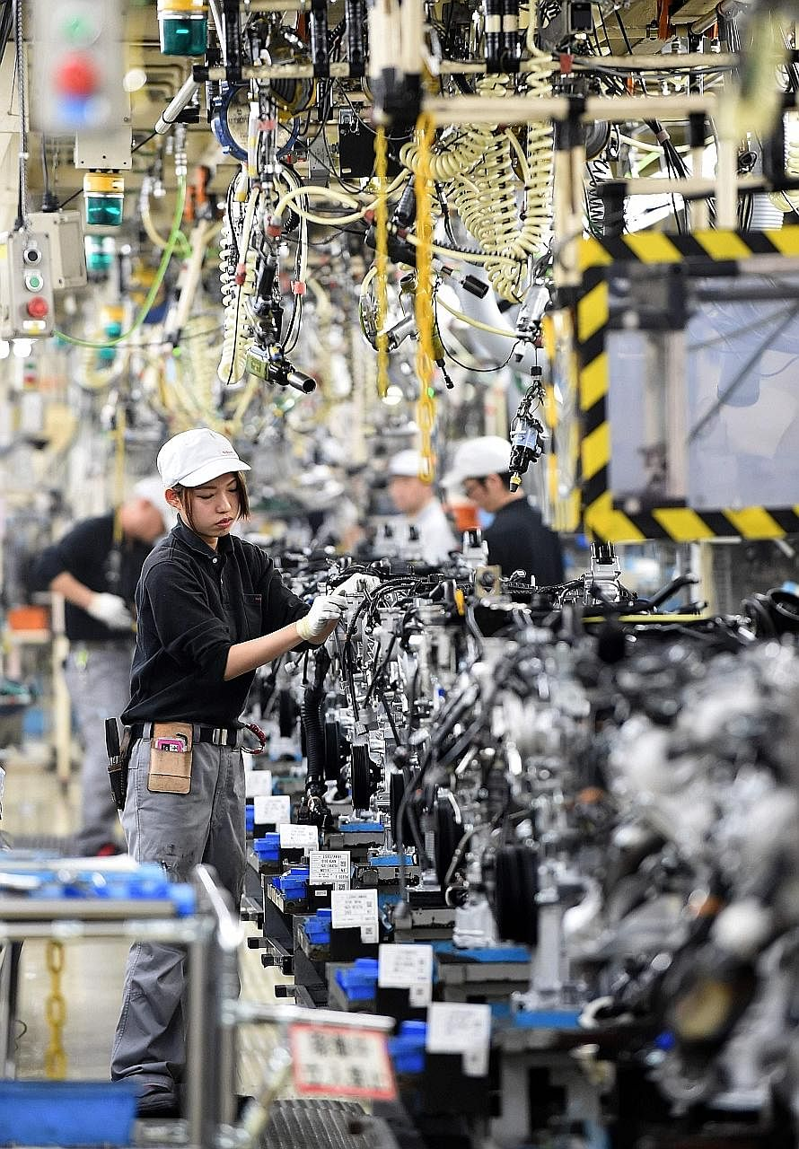 The yen's rise is taking its toll on exporters. Japanese carmakers also suffered from the effects of last month's earthquakes that crippled supply chains in the south.
