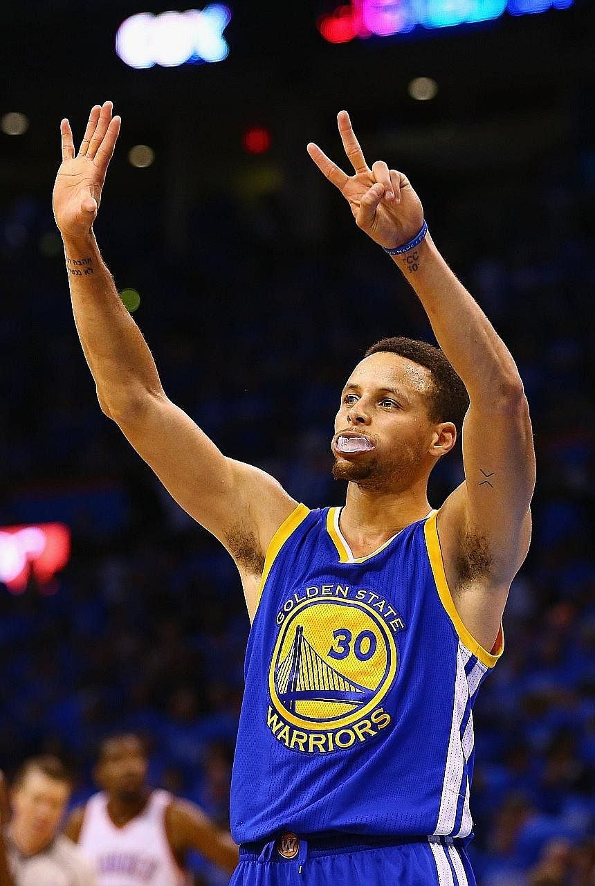 Stephen Curry had 29 points, 10 rebounds and nine assists but was overshadowed by Klay Thompson's big show. He warns Game Seven will be tougher as the Cavs await the winners.