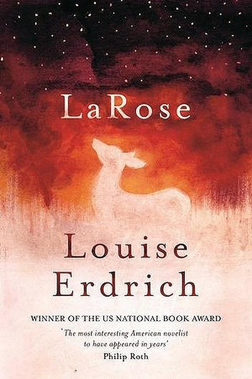 In American author Louise Erdrich's (left) LaRose, a young boy fills the void of another who was killed in a gun accident.