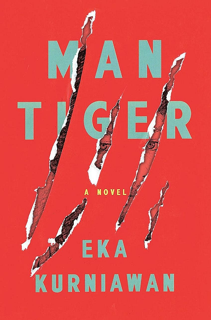 Eka Kurniawan (above) says the inspiration for Man Tiger came from a conversation with a friend about mystical white tigers.