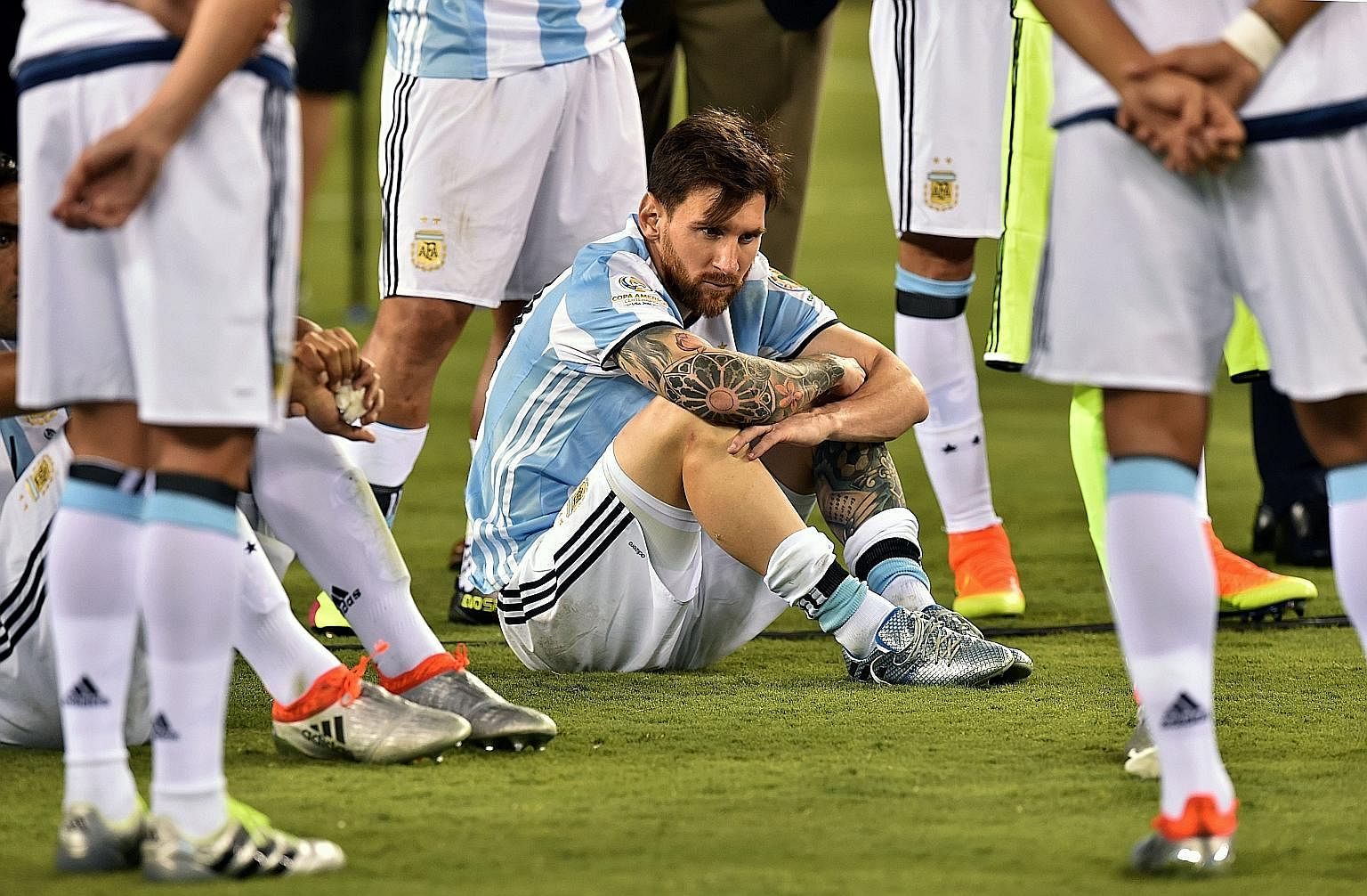 Lionel Messi Announces Shock Retirement After Loss To Chile