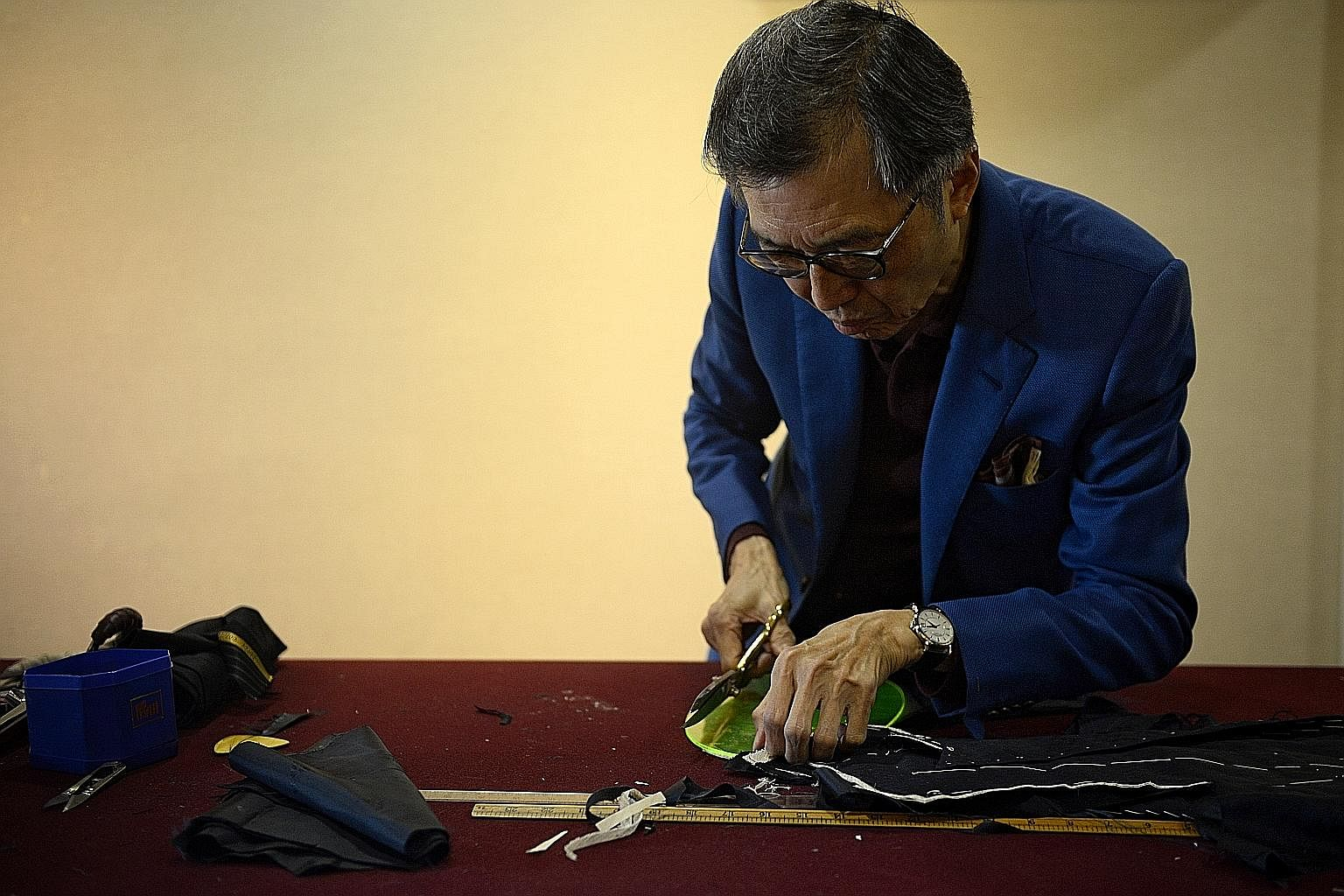 Mr Thomas Wong does not believe in cutting corners and strives for perfection.