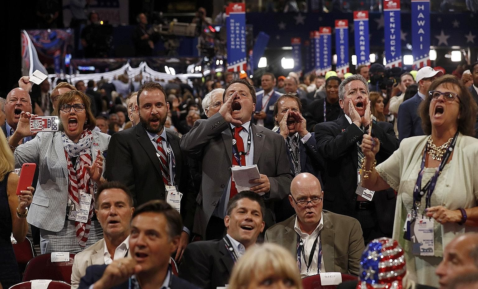 The four-day Republican confab turned out to be an approximate reflection of Mr Donald Trump's campaign - it was boisterous, angry and unpredictable, but also seemingly unflappable in the face of controversy.