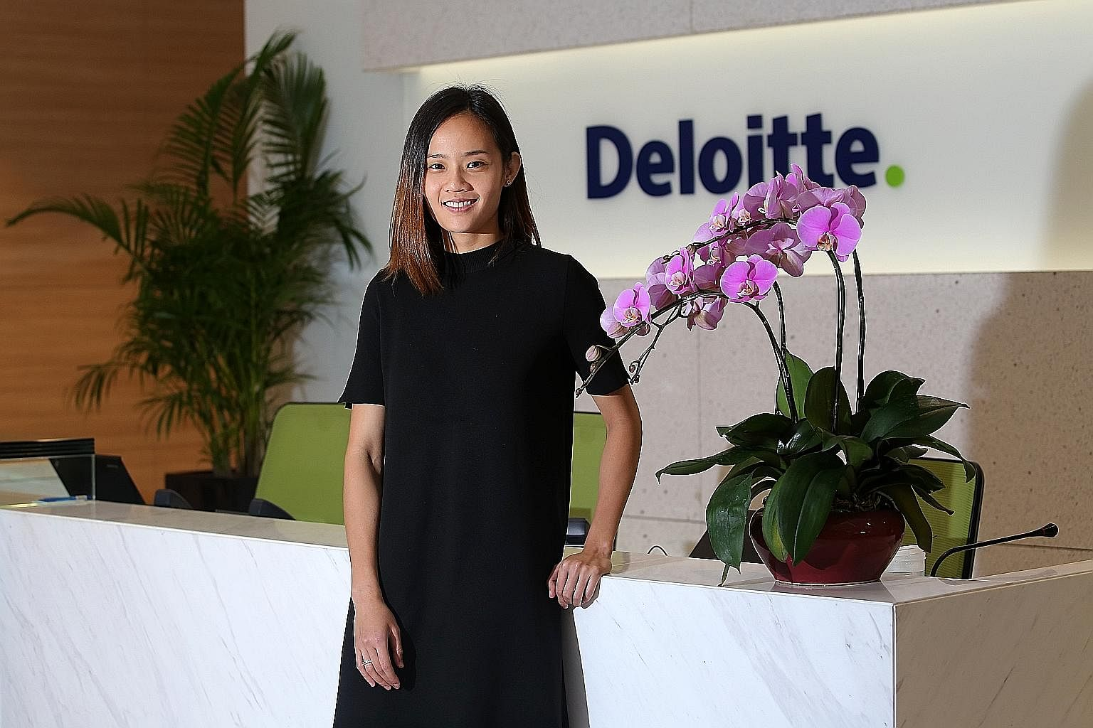 Former national netball captain Micky Lin, who retired in May, is now a digital marketing assistant manager at Deloitte Singapore, which is one of the spexBusiness Network partners.