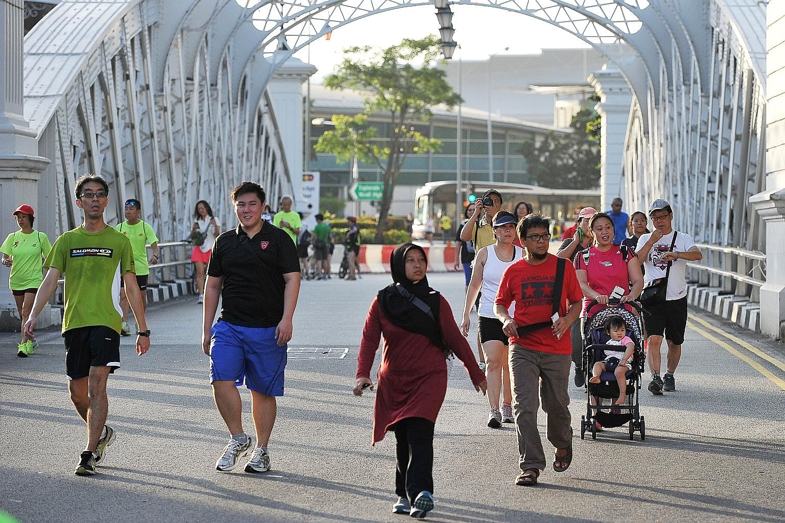 Image result for car free sunday in singapore