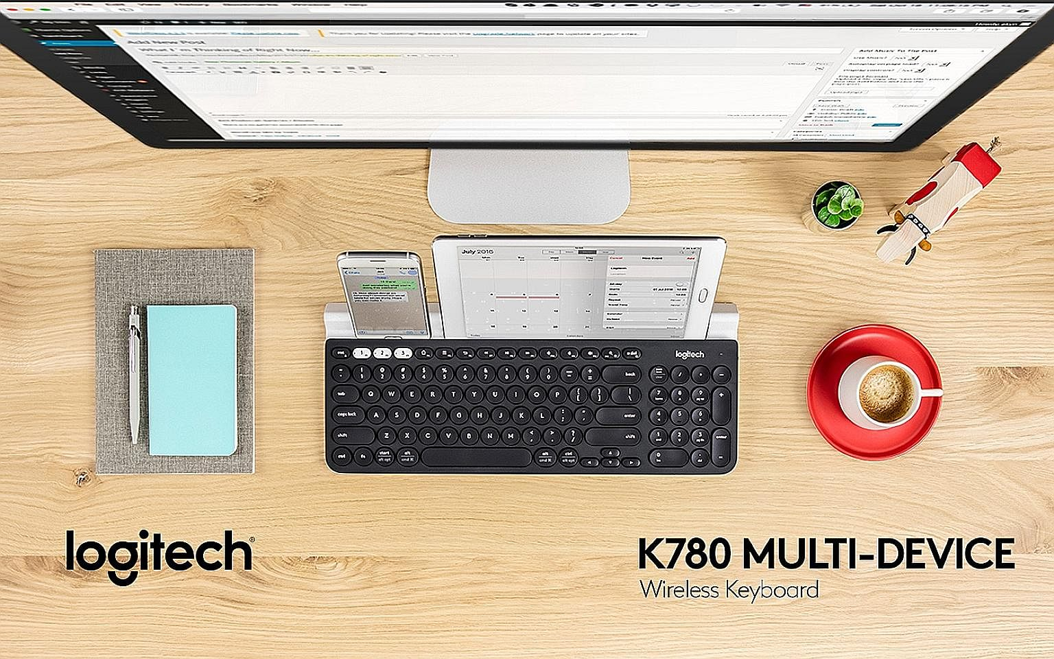 Most Versatile Keyboard You Can Get Pcs News Top Stories The Bluetooth Logitech K480 Straits Times