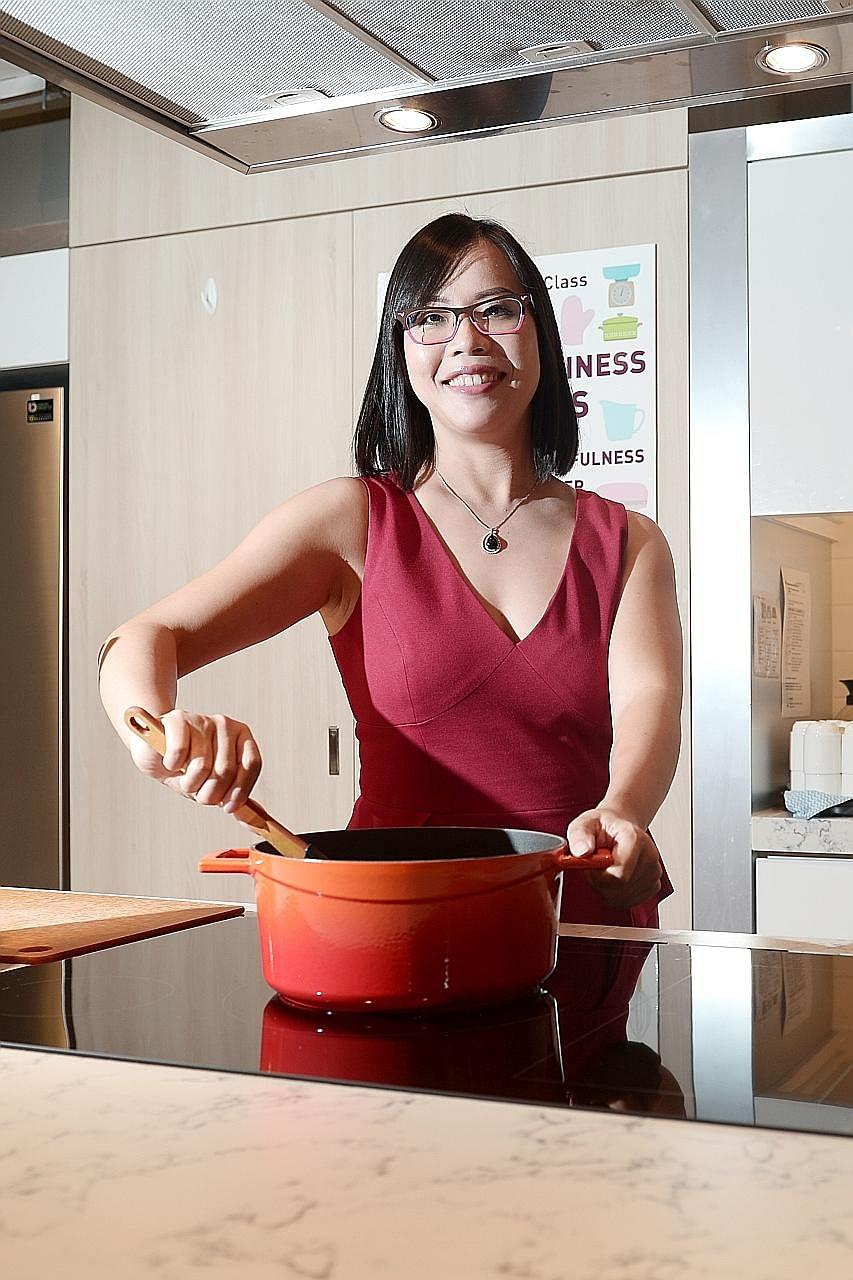 When Ms Grace Tan once craved foie gras ice cream, her husband Wen Huang made it for her.