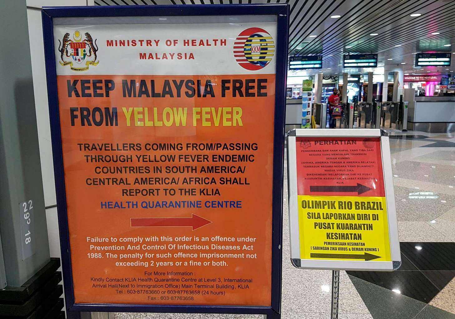 Malaysia Steps Up Health Screening At Entry Points Se Asia News Top Stories The Straits Times