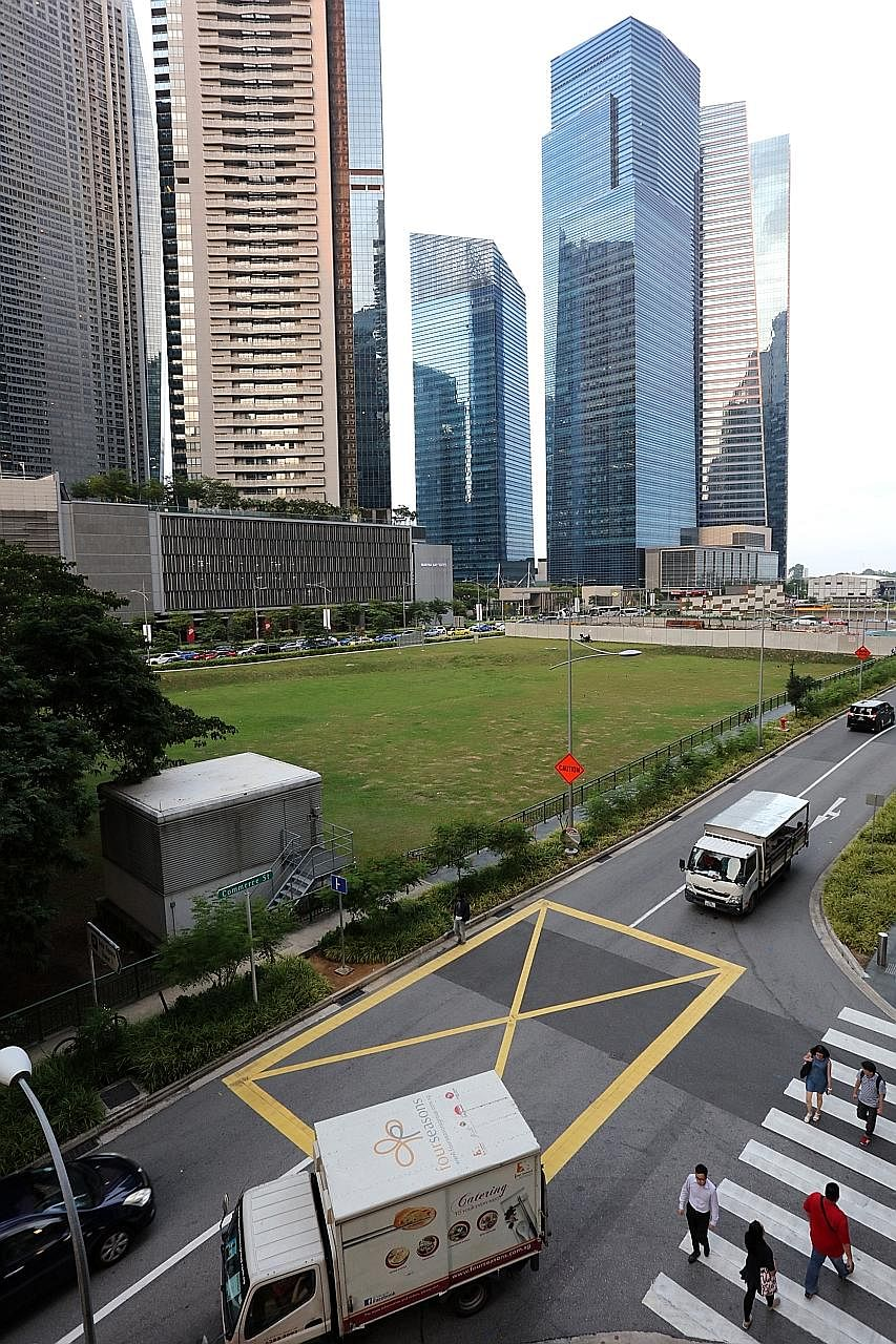 The Central Boulevard Reserve Site was triggered for release from the Government's reserve list earlier this month, when a developer committed to bidding at least $1.536 billion at the tender.