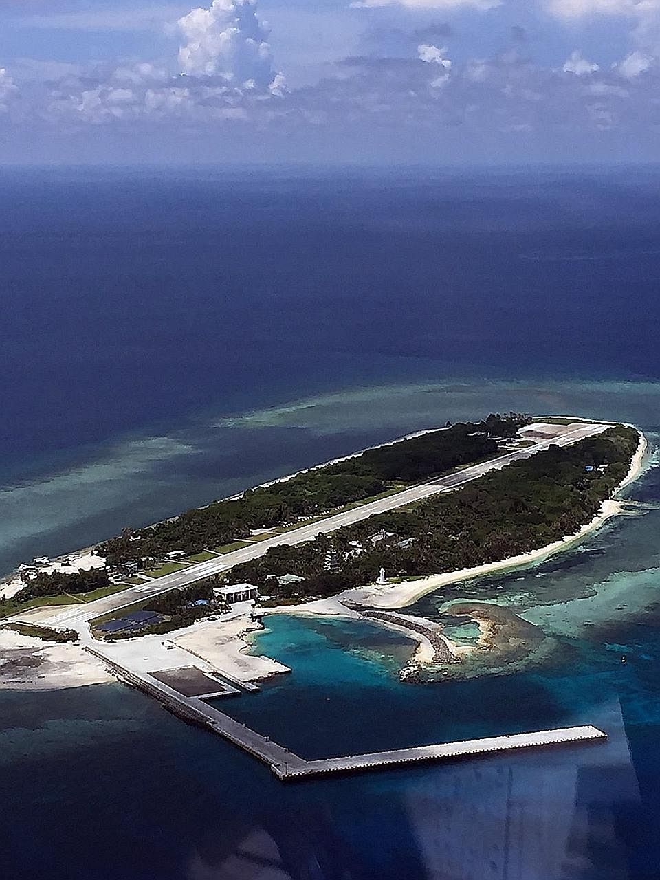 Taiping Island (above) was ruled to be a rock by the arbitral tribunal instead of an island with its own exclusive economic zone, giving the tribunal the basis to make its subsequent ruling against China's claims over territories in the South China S